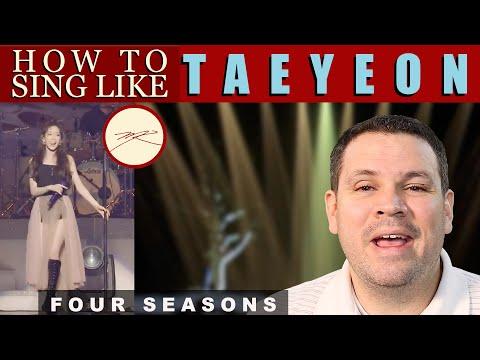 How To Sing Like TAEYEON FOUR SEASONS: Voice Teacher/Opera Stage Director Reacts, Analyzes, Teaches