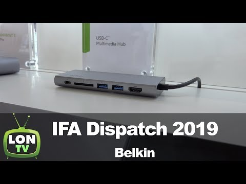 Belkin At IFA 2019: Thunderbolt 3 Docks And Accessories!