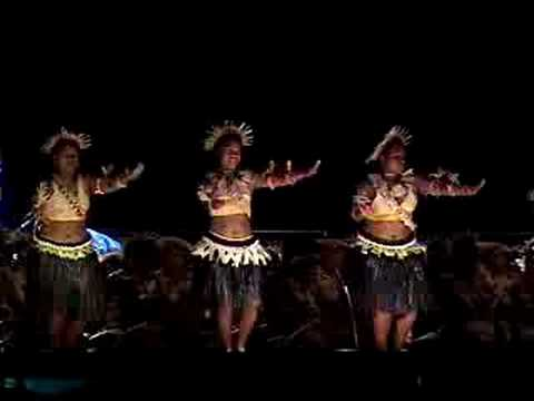 Kiribati Dancers at the Pacific Arts Festival