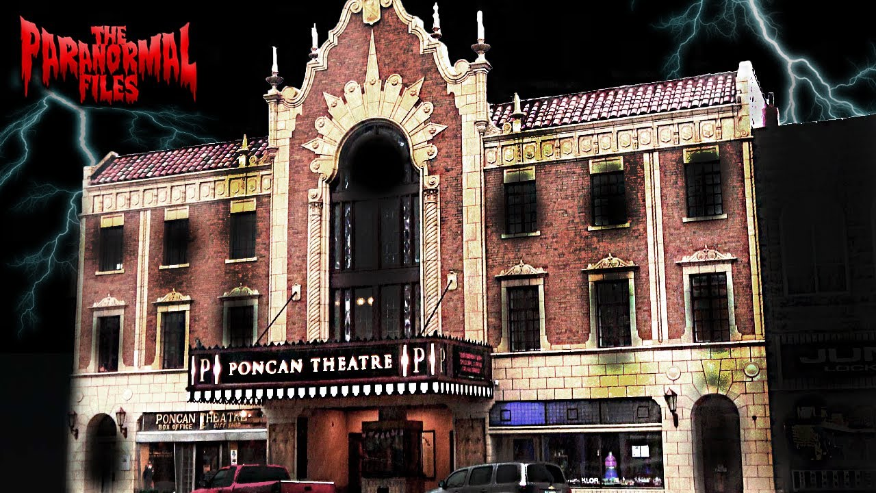 A SCARY Investigation At The HAUNTED Poncan Theatre | THE PARANORMAL FILES