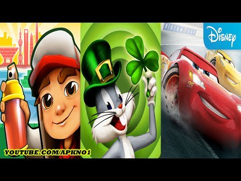 Subway Surfers 2017 Shanghai VS Looney Tunes Dash VS Disney Cars Lightning League