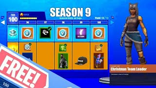 How To Get Fortnite Season 9 Battle Pass For Free! Fortnite Glitches