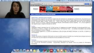 Mémoire de recherche: La Revue de Littérature