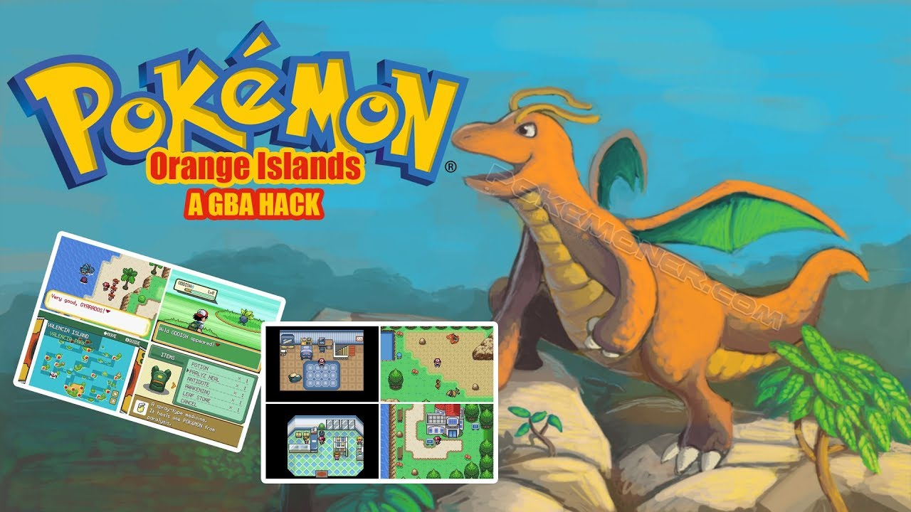 pokemon orange island download gameplay youtube