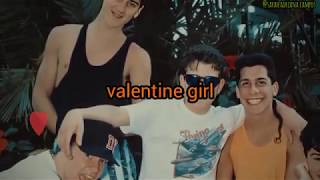 Valentine Girl . New Kids On The Block (Lyrics)