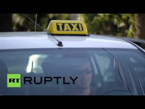 Slovakia: Anti-Uber taxi drivers bring Bratislava to a standstill