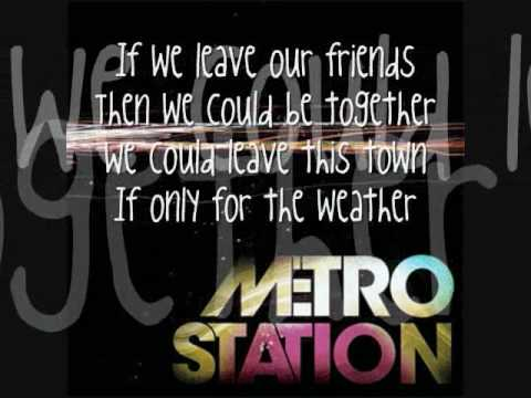 Metro Station - California [+ with LYRICS!]