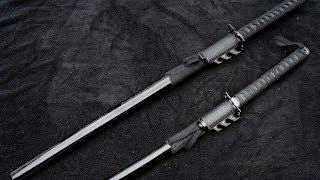 Batman Themed Ninja/Samurai Swords (Nolan Verse)
