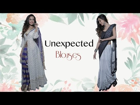 Unexpected Lehenga & Saree Blouse Every Girl Needs To Have - Party Dresses Tips