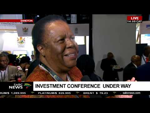 Higher Education Minister Pandor on the 2018 Investment Conference