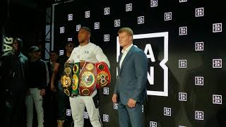BREAKING NEWS: ANTHONY JOSHUA AND JARRELL MILLER COME TO BLOWS  AT DAZN PRESS CONFERENCE thumbnail