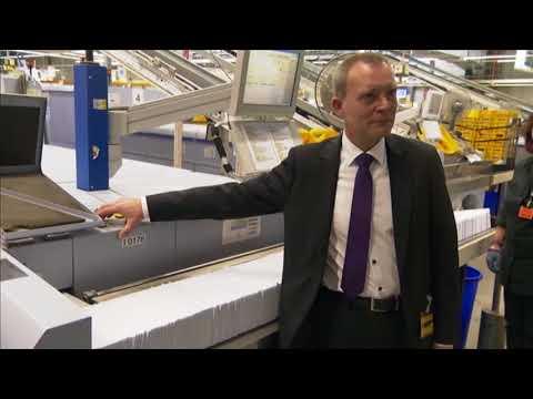 TV Doku: Bundestagswahl - Deutsche Post bedient 1,3 Mio Hamburger mit Wahlunterlagen