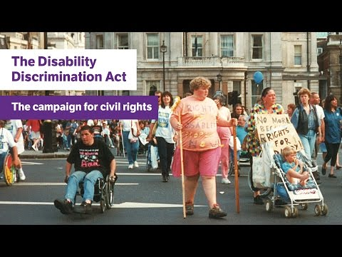 The Disability Discrimination Act 1995: The campaign for civil rights