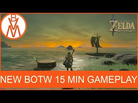 BEAUTIFUL SUNSET! | The Legend of Zelda Breath of the Wild New 15 Min GamePlay