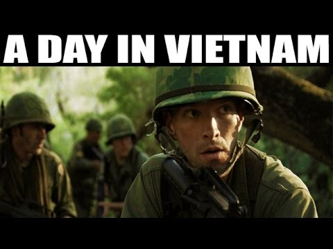 A Day in Vietnam | US Marine Corps Documentary in Color | 19