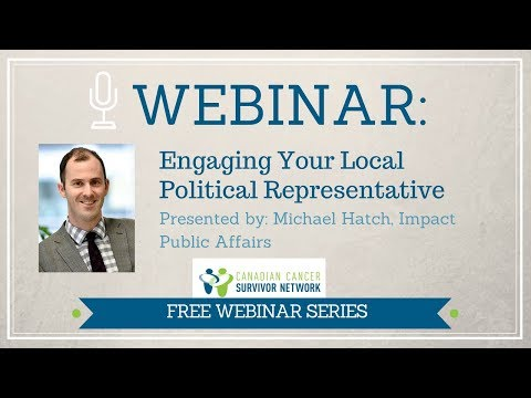 WEBINAR: Engaging Your Local Political Representative