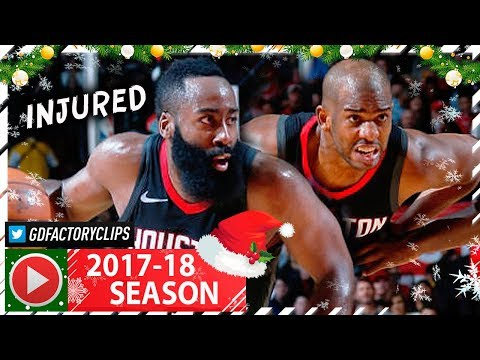 James Harden 40 Pts & Chris Paul 28 Pts Full Highlights vs Lakers (2017.12.31) - CP3 CLUTCH