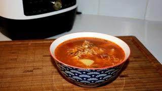Суп с Килькой в Мультиварке Скороварке Redmond RMC P350 Рецепты в мультиварке скороварке