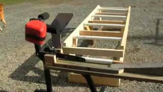 How To Build An Electric Chainsaw Firewood Processor (low Tech) Diy