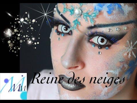 Maquillage artistique : Reine des neiges