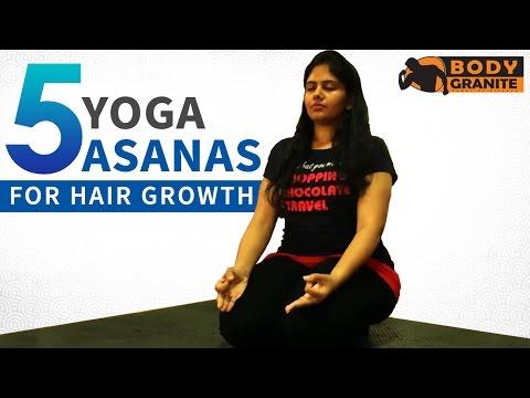 5 Simple Yoga Poses for Hair Growth - Hair Growth Tips - Yoga Asanas for Strong Hair