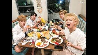 방탄소년단 BTS Fall in Love With Foods [Bangtan Eating]