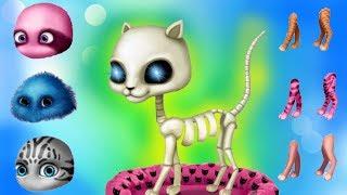 Cat Hair Salon Birthday Party ♥ Play Fun Pet Kitten Care & Hair Salon Makeover Games For Girls