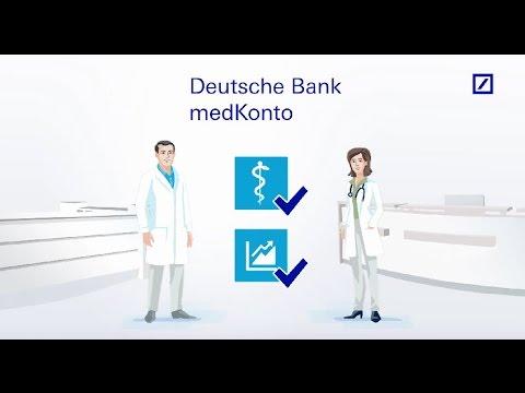 Deutsche Bank medKonto – praxisnah und leistungsstark