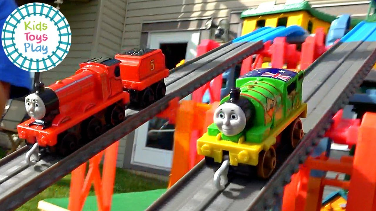 Thomas and Friends Mystery Wheel Sodor Superstation Speedway