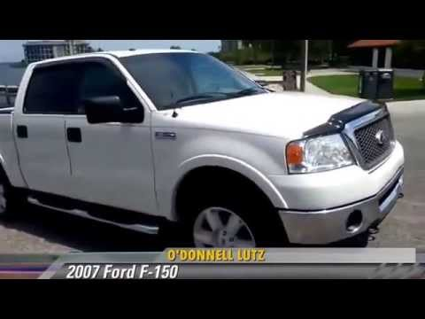 Used 2007 Ford F-150 Lariat SuperCrew Short Box 4WD - Melbourne Fl