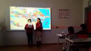 Открытый урок по истории в 5 класс