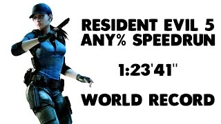 "Resident Evil 5 - Any% NG+ Speedrun - 1:23'41"" [World Record]"