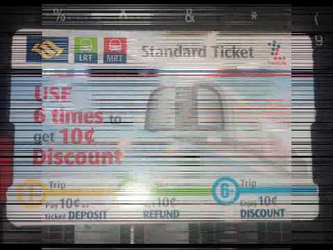 Cara Membeli Tiket MRT di Singapore - Tiket dari Raffles Palace ke Changi Airport