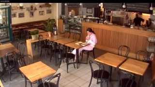 Видеонаблюдение в кафе www.simple-video.ru IP видеокамера Axis, отличная детализация(Видеонаблюдение в кафе. Демонстрация качества изображения с IP видеокамеры Axis. Отличная детализация изобра..., 2013-10-03T09:03:01.000Z)