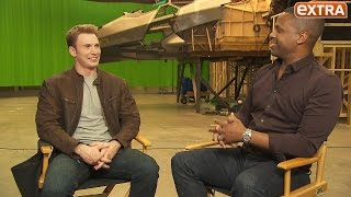 Exclusive: Chris Evans Talks 'Captain America: Civil War' During Our Top-Secret Set Visit