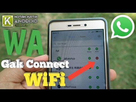 Mengatasi WiFi Can't Connect To This Network dari Hotspot HP.