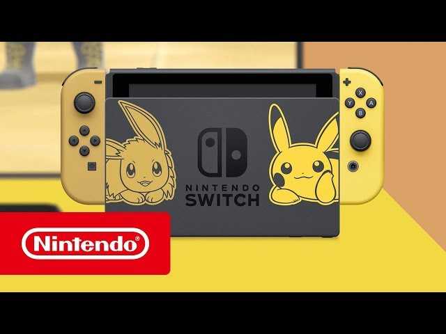 New Pokémon Let S Go Pikachu And Eevee Get Limited Edition Nintendo