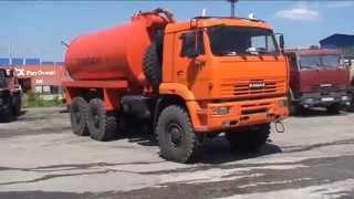 видео Автоцистерна НЕФАЗ– 6606
