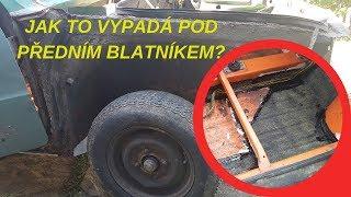#12 Renovace Škodárny - Vnitřek vyvařené podlahy | Škoda 105 L