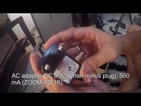 Zoom B3N unboxing