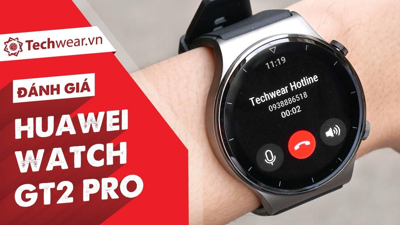 Đánh giá chi tiết Huawei WATCH GT2 PRO - Ngoại Hình Đẳng Cấp, Nghe Gọi Trực Tiếp, Pin 14 Ngày