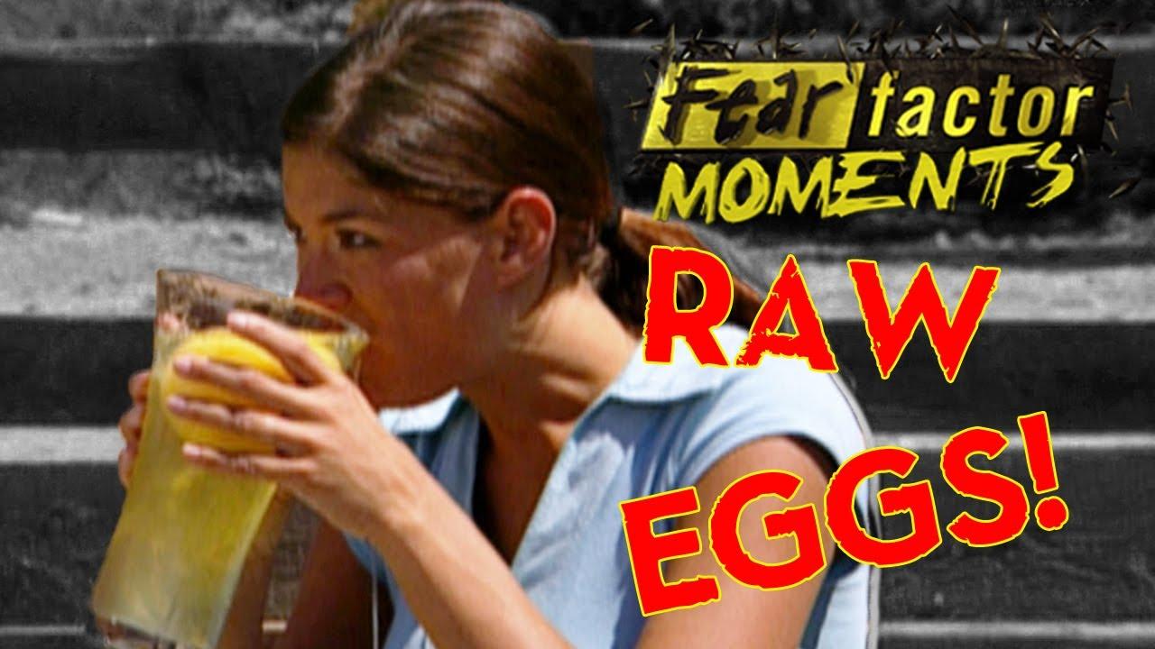 Fear Factor Moments | Eat Ostrich Egg