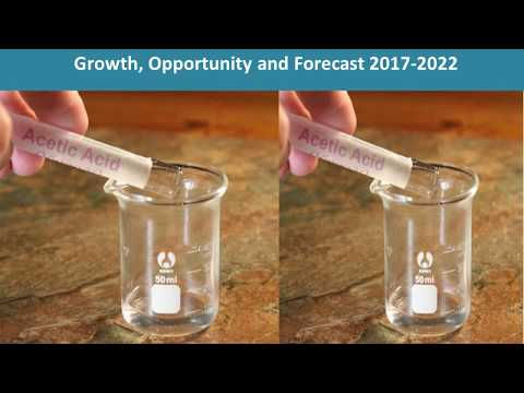 Acetic Acid Market Growth, Share, Opportunities, Competitive And Forecast 2017 To 2022