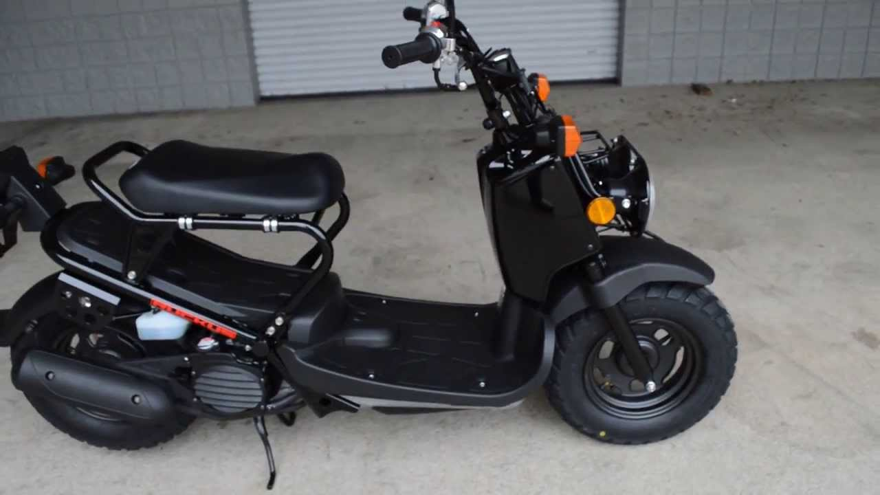 2014 ruckus scooter sale honda of chattanooga tn black nps50e 50cc scooter youtube. Black Bedroom Furniture Sets. Home Design Ideas