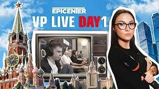 VP Live. Epicenter начался!