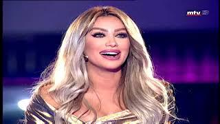 حسين الديك يغازل مايا دياب
