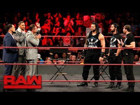 Roman Reigns wants an Intercontinental Title Match: Raw, Nov. 20, 2017