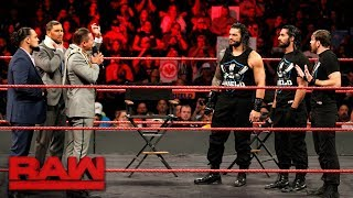 Roman Reigns wants an Intercontinental Title Match: Raw, Nov. 20, 2017