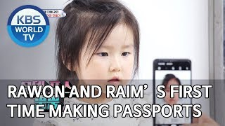 Rawon and Raim's first time making their passports [The Return of Superman/2019.10.20]
