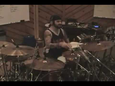 Mike Portnoy (Dream Theater)  - Wither on drums IN STUDIO!!!
